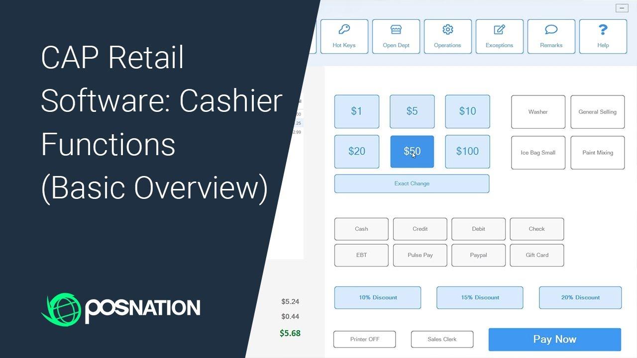 CAP Retail Cashier Basics Thumbnail